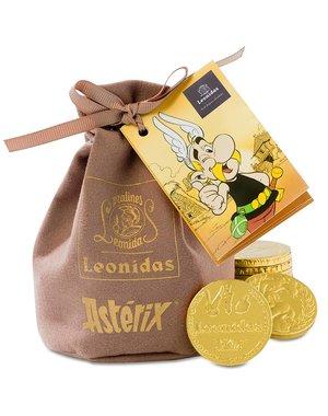 Leonidas Asterix-Pouch Chocolate Coins 200g