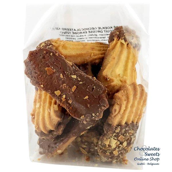 Dressé koekjes gechocolateerd 125g