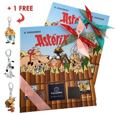 Leonidas 2 Astérix Comic strips + 1 Keychain for FREE