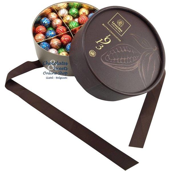 Leonidas Dora box mit 60 Festliche Schokoladenkugeln