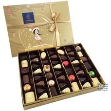 Leonidas Coffret Noël Doré 48 Chocolats