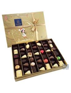 Leonidas Golden Christmas box 48 chocolates