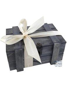 Coffret (gris) 500g de Chocolats Leonidas