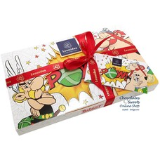 Leonidas POW! box with 18 Asterix chocolates