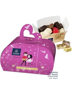 Leonidas gift box 'handbag' 250g chocolates