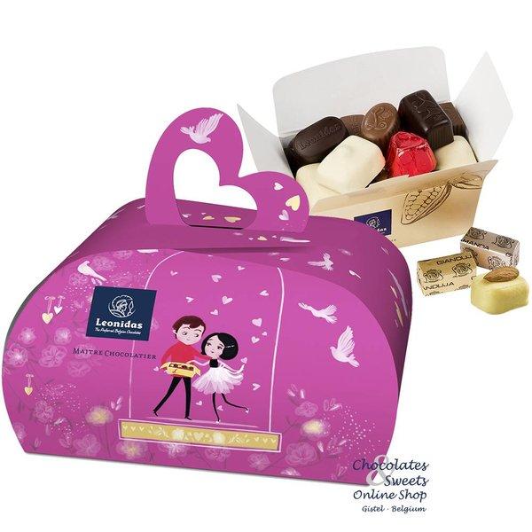 Leonidas gift box 'handbag' 250g chocolates