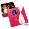 Leonidas Mini-box (fuchsia) 4 chocolates