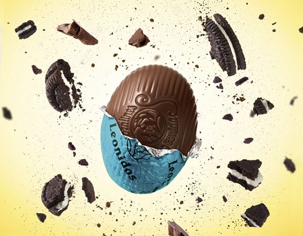 New Easter Egg Cookies & Cream