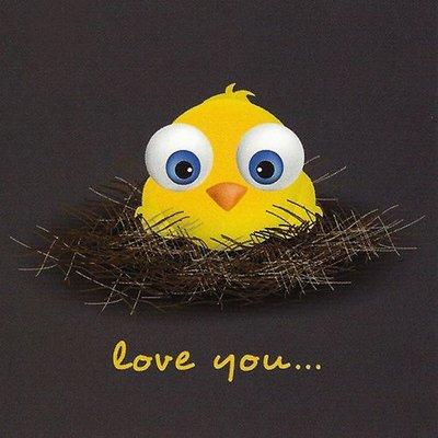 Grußkarte 'Love You'