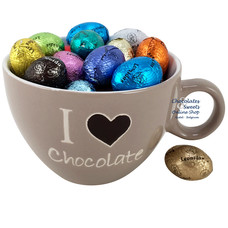 Tasse à café 'I love Chocolate' 33 Oeufs de Pâques