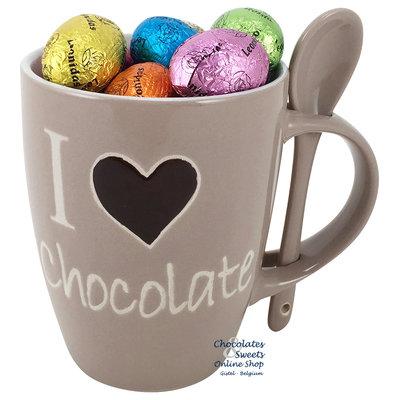 Mok 'I love Chocolate' Pasen