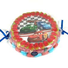 Süßigkeitentorte Cars