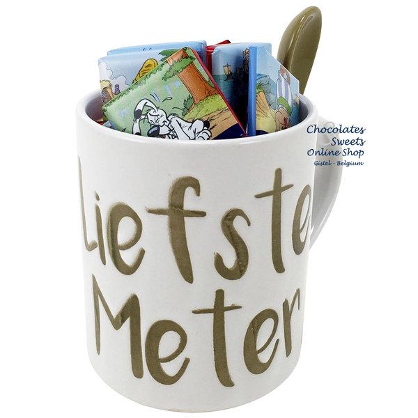 Tasse 'Liefste Meter' Napolitains 275g