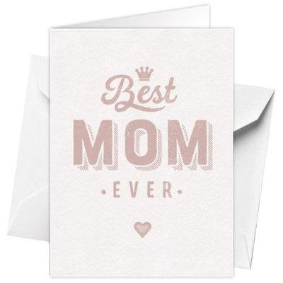 Carte de voeux 'Best Mom ever' 12x17cm