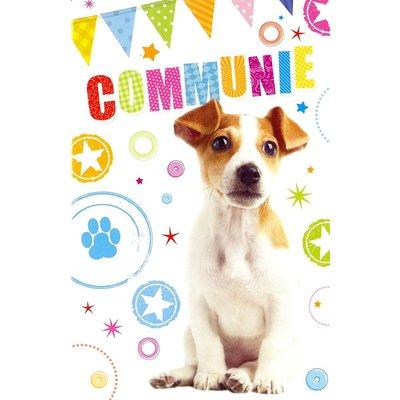 Wenskaart 'Communie'