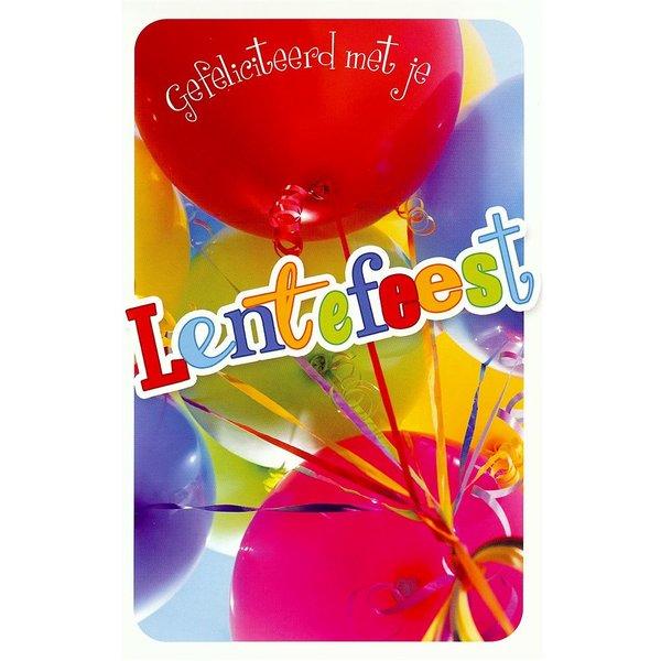 Wenskaart 'Lentefeest'