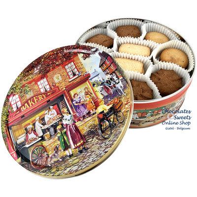Biscuits Danois au Beurre & au Chocolat 400g