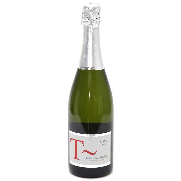 Flasche CAVA Tentaciõn De Mont de Marcal Brut 75cl.