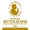 Flasche regionalem Bier 'Reninge Bitter Blond'75cl.