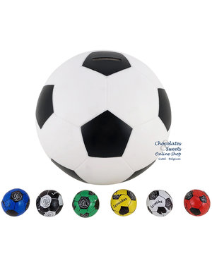 Football Money Box with 80 Soccer balls