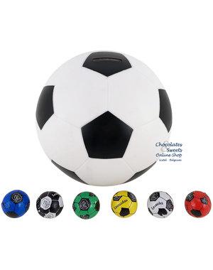 Fußball-Spardose mit 80 Fußbälle