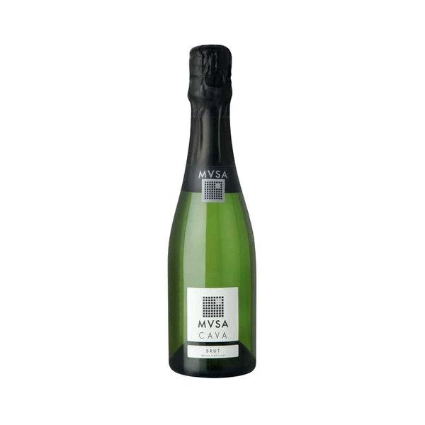 Bottle of CAVA MVSA Brut 20cl.