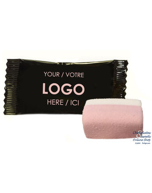 Marshmallow in gepersonaliseerde verpakking