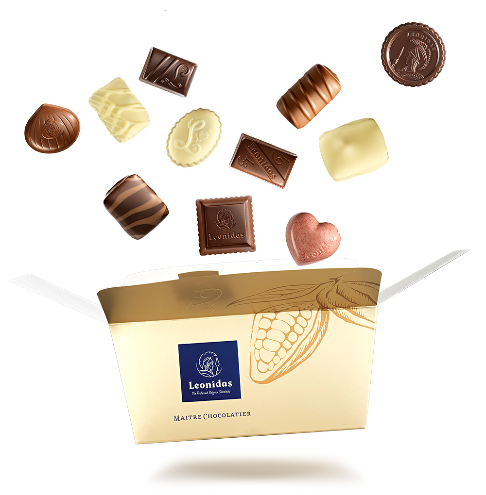 Leonidas Chocolates Online Shop Belgium