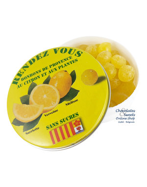 Rendez-Vous Sugar-free candies (lemon) 35g