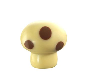 Leonidas paddenstoel wit