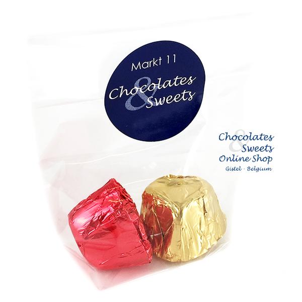 Leonidas Cello bag with 2 chocolates