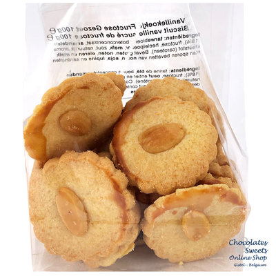 Vanilla cookies with Fructose sweetened 100g
