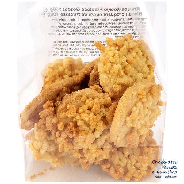 Biscuits croquants - Sucré de fructose 100g