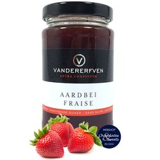 Strawberry jam without added sugar 240g