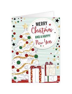 Merry X-Mas and Happy New Year (12x17cm)