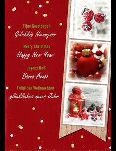 Merry Christmas - Happy New Year (10x15cm)