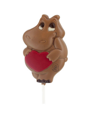 Leonidas Lollipop Hippo in love