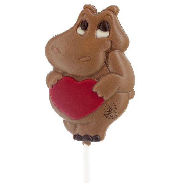 Leonidas Lollipop Hippopotame amoureux
