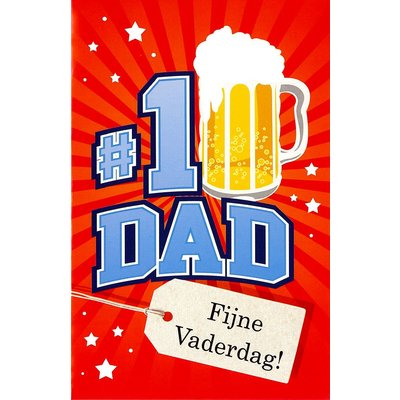 Carte de voeux 'N°1 Dad'