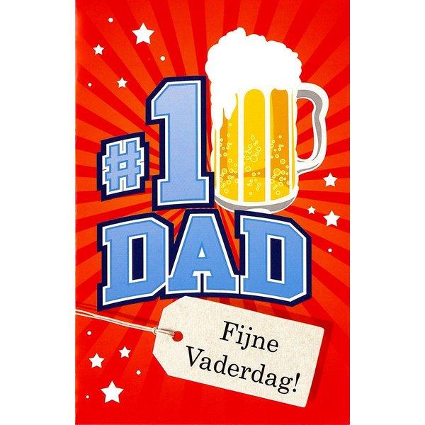 Grußkarte 'N°1 Dad'
