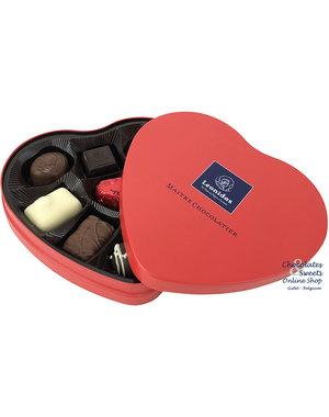 Leonidas Heart tin 9 chocolates