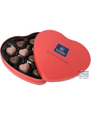 Leonidas Coeur en métal 12 chocolats (coeurs)