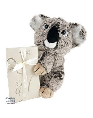 Leonidas 300g chocolats et Koala en peluche (25cm)