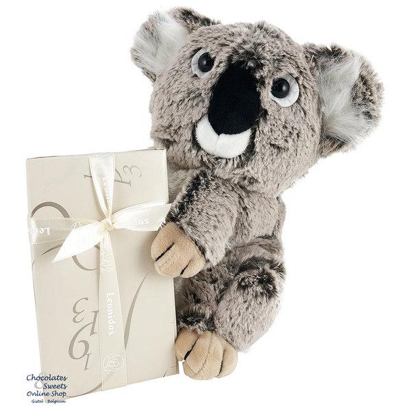 Leonidas 300g chocolats et un Koala en peluche (25cm)