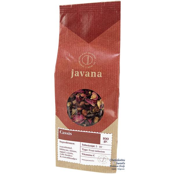 Javana Cassis Fruit Tea 100g (0,22 lb)