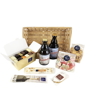 Geschenkkorb (L) regionales Bier