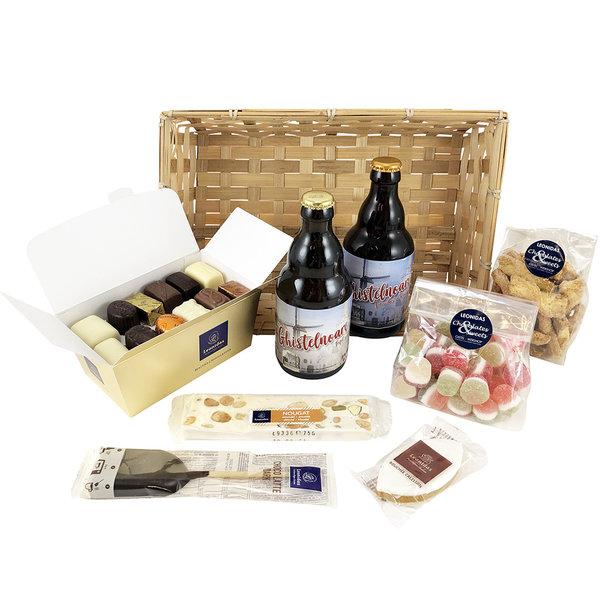 Geschenkkorb (L) mit regionales Bier