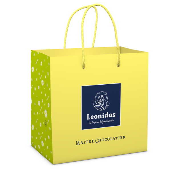Leonidas Deluxe carrying bag (M) Easter 22x13x22cm
