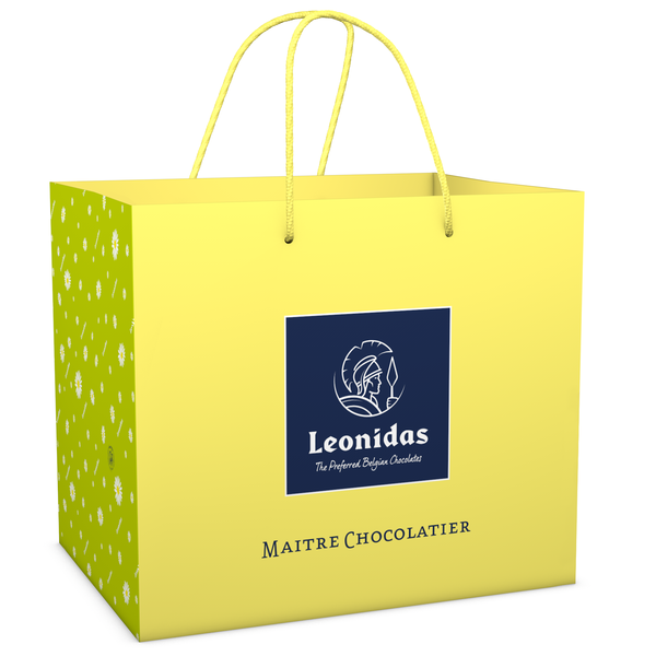 Leonidas Deluxe carrying bag (L) Easter 32x20x28cm