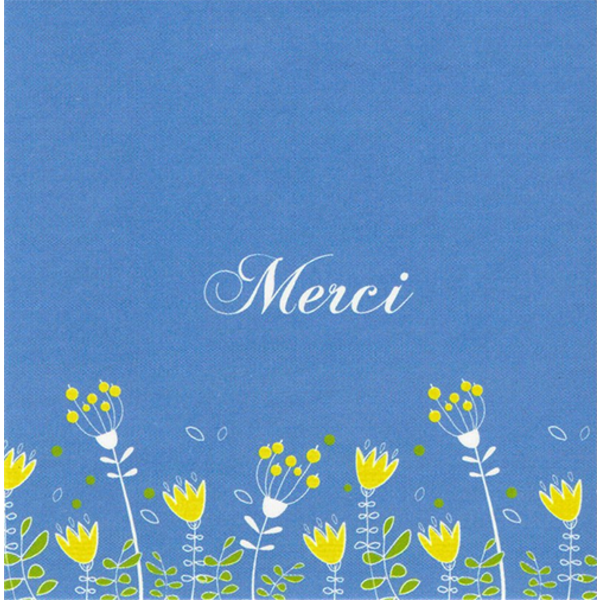 Greeting Card 'Merci'